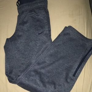 Nike Therma-Fit Sweatpants with Zippers